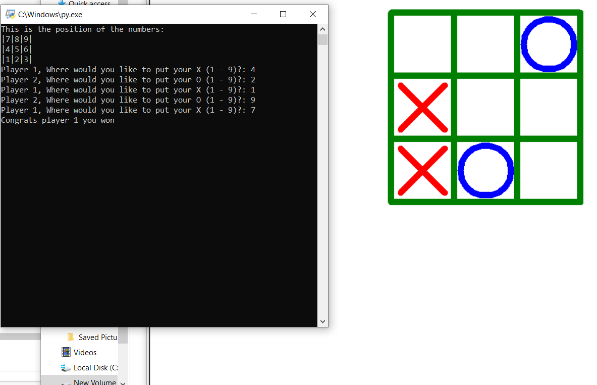gui based tic tac toe