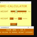 Simple BMI Calculator In Python With Source Code