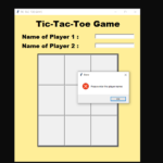 Simple TICTACTOE Game In Python With Source Code
