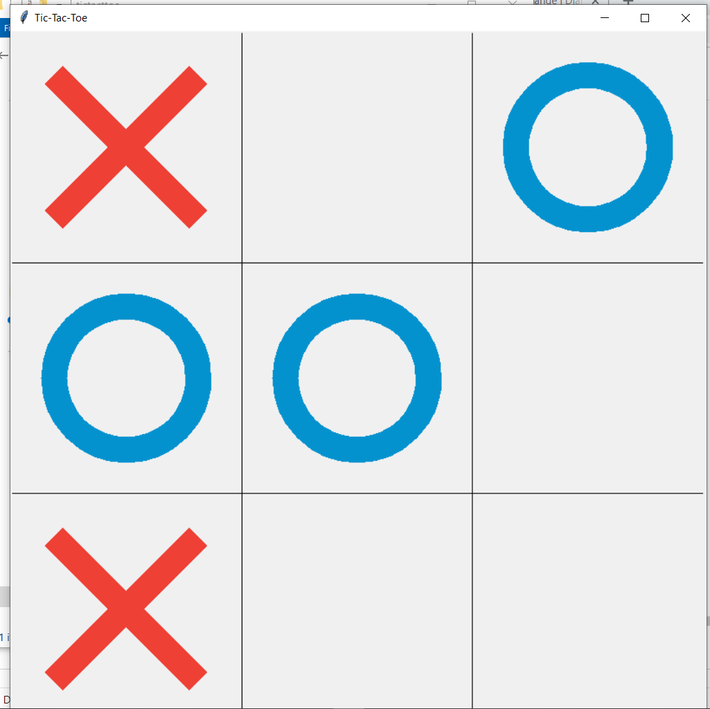 tictactoe in gui