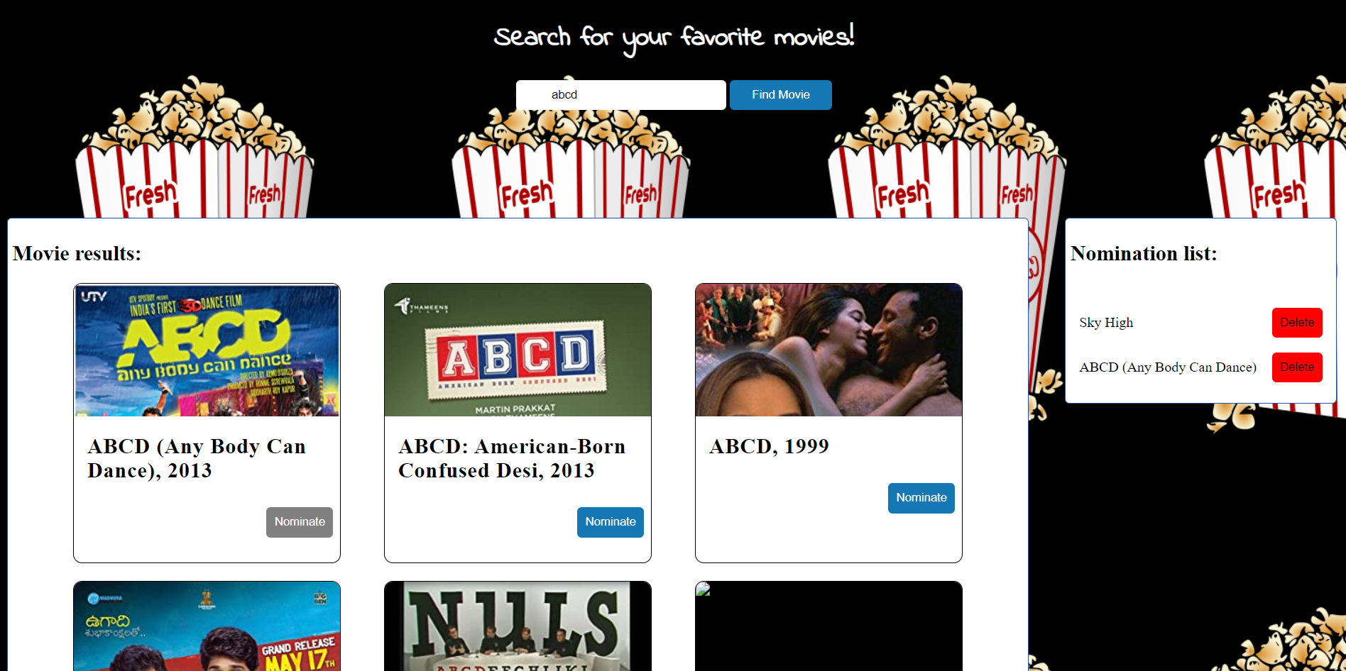 movie searching site