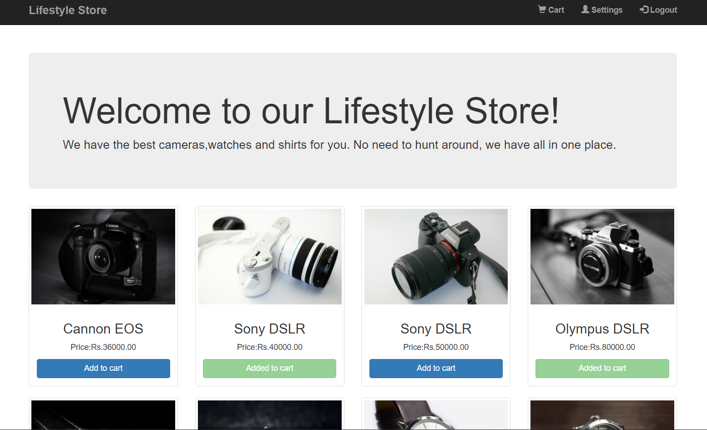 online shop store