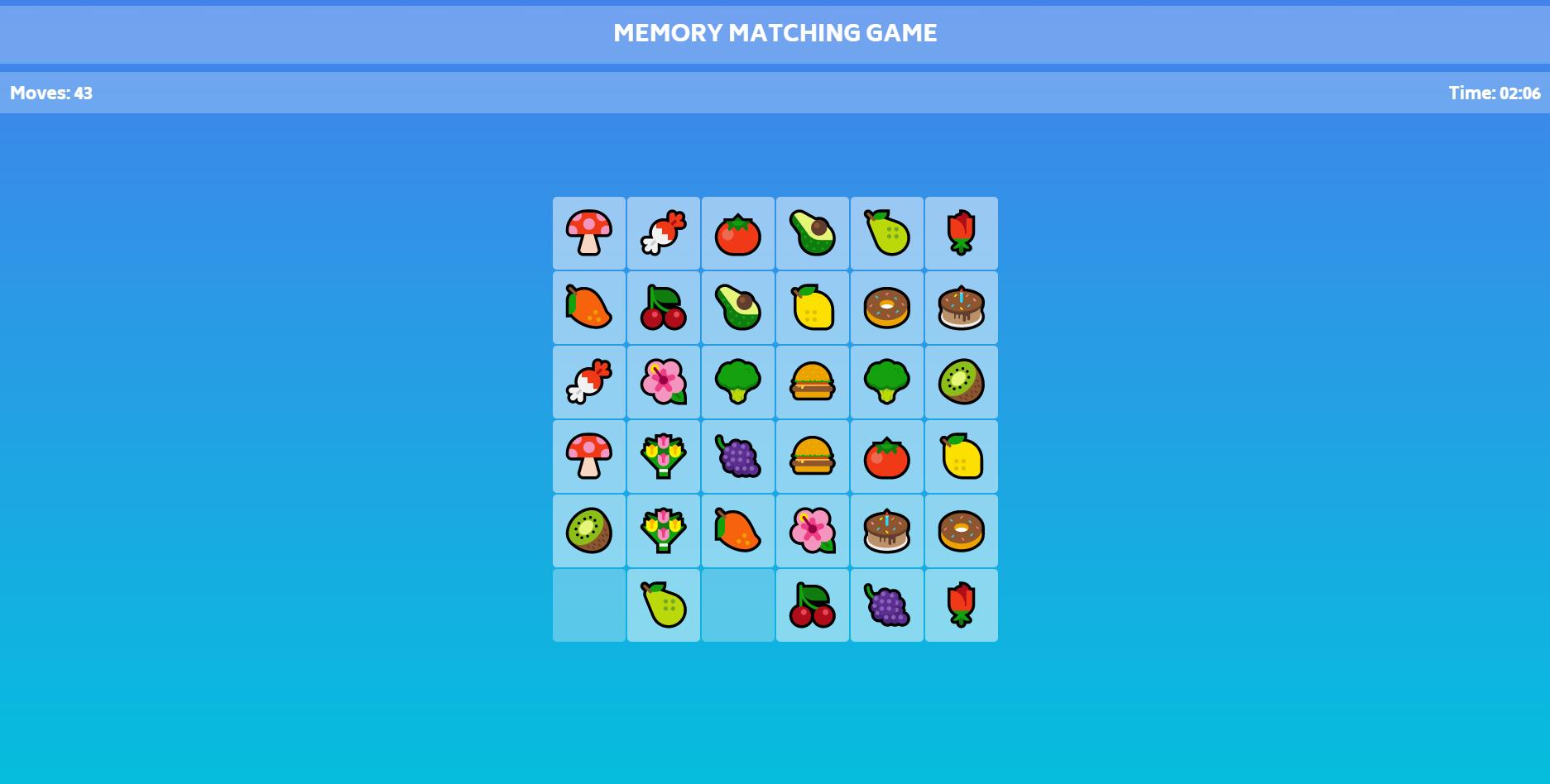 memory matching