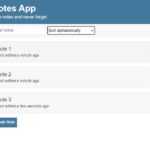 Simple Notes App In JavaScript With Source Code