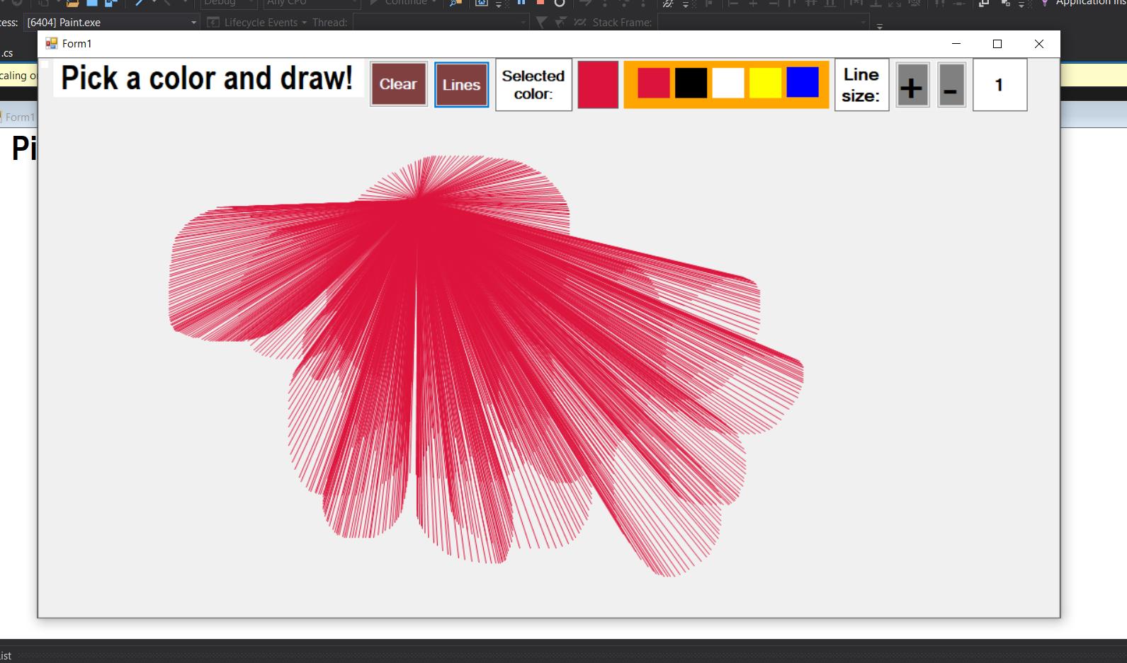 simple painting app