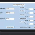 employee wage calculator